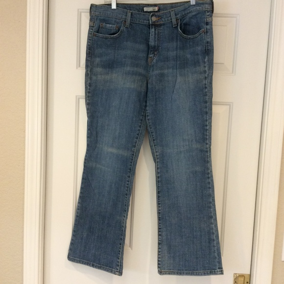 Levi's Denim - Levis 515 Boot Cut Stretch Jeans Women SZ 12 SHORT